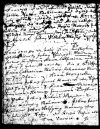 Birth record page from original church book for church at Löllbach