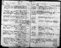 Marriage record from church records at Ernsback